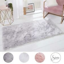 Sienna Large Faux Sheepskin Fur Rug Soft Fluffy Shaggy Non-Slip Floor Carpet Mat