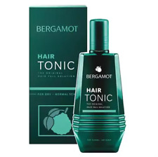 BERGAMOT Hair Tonic Treatment Growth Scalp Reduce Loss Thinning Fall + Tracking