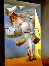 Salvador Dali young girl print canvas 8X12 reproduction of painting poster art