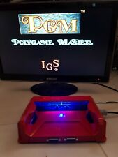 IGS POLYGAME MASTER PGM CONSOLIZED ARCADE TV CRT LCD WORKING NEO GEO PAD READY