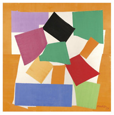 The Snail, 1953 by Henri Matisse Art Print Abstract Shapes Poster 11x14