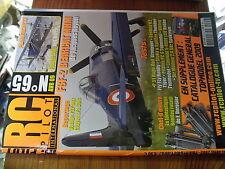 µ?b  Revue RC Pilot n°65 plan encarté Fokker DVII / F8F-2 Bearcat Stuka Pilatus