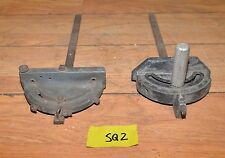 2 vintage table saw miter gauges collectible Rockwell Delta & Craftsman tool lot