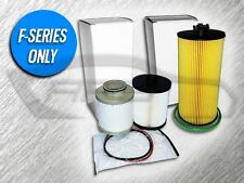6.4L TURBO DIESEL 1 OIL FILTER AND 1 FUEL FILTER KIT FOR FORD - AMAZING VALUE
