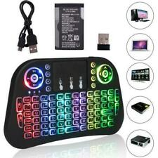 I10 Backlit Mini 2.4G Wireless Keyboard Touchpad for PC Android TV Box Smart TV