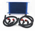13 Row An10 Universal Auto Engine Transmission Oil Cooler Radiator Fitting
