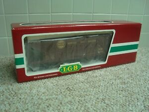 LGB Brown Norfolk & Western Hopper Train car G Scale 45760 new in original box