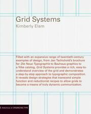 Grid Systems: Principles of Organizing Type by Kimberly Elam Paperback Book (Eng