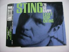 STING - I'M SO HAPPY I CAN'T STOP CRYING - CD SINGLE 1996 UK EXCELLENT CONDITION