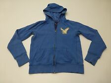 American Eagle Womens Size Small Blue Hoodie Sweratshirt Great Condition