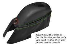 GREEN STITCH CENTRE CONSOLE POCKET COVER FITS LOTUS ELISE EXIGE S1 MK1 95-02