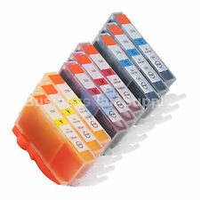 9 COLOR CLI-226 Ink for Canon Printer PIXMA iX6520 MG6120 MG8120 * CLI-226 CMY