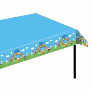 Tischdecke | Tischtuch 120 x 180 cm | Peppa Wutz | Peppa Pig | Kinder Geburtstag