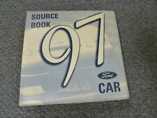 1997 Ford Mustang Coupe Convertible Dealer Source Data Manual GT Cobra 3.8L 4.6L