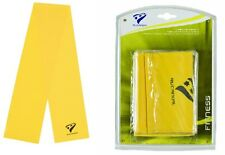 Stretch Bands YELLOW Resistance Exercise Bands 1 Pair Leg Stretcher (Rucanor)