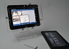 Clear Acrylic Anti-theft Security Desktop Stand for Amazon Kindle Fire HD 7 HDX
