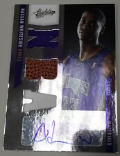 2010 2011 10-11 HASSAN WHITESIDE ABSOLUTE JERSEY BALL RPM ROOKIE RC AUTO # / 499