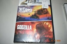 Kong Skull Island And Godzilla 2 Film Collection (Dvd) New Free Shipping
