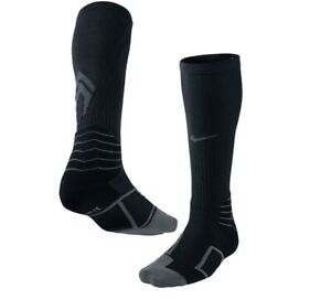 Nike Elite Vapor Baseball Socks Kids Shoe 3Y-5Y, Black, Calf SX4844-006 L10 MP