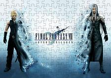 Final Fantasy 7 Advent Children Cloud Sephiroth A4 Puzzle  - 120 Pieces