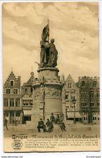 CPA-Carte postale-  Belgique - Brugge - Monument de Breydel et de Coninck 1913