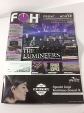 FOH Magazine Live Sound Production Engineer The Lumineers Rent Tour 3/17 Issue