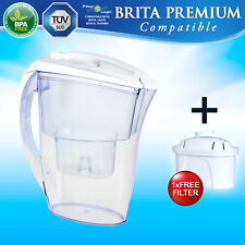 FLJ402 Jug + free compatible with Brita Maxtra Marella Navelia Water Filter