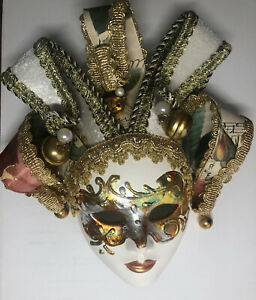 Maschera Porcellana Veneziana