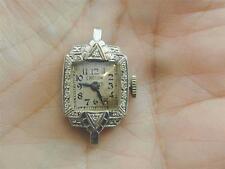 Antique Platinum Iridium & Diamond Croton Ladies Watch STUNNING