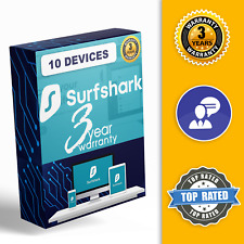 Surfshark VPN 24 MONTHS WARRANTY) Windows, macOS, Android, iOS ,FireTV, TVS ⭐️