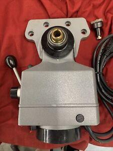 SERVO DYNAMO 140 X-Y Axis POWER FEED MILLING MACHINE W/MOUNTING BRACKETS
