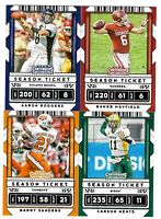 2020 Panini Contenders Draft Picks Football Base 1-100 Complete Your Set  U PIck