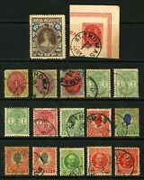 Danish West Indies #5-#44 1874-1908 Small Assorted Lot Mostly Used