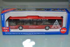 SIKU 3734 on manœuvrable Bus IGM MÄRKISCHER Cercle MK limitée publicitaires modèle rare
