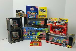 LOT OF 12 Die Cast JEFF GORDON DU PONT NASCAR RACING CHAMPIONS MATCHBOX 1990'S
