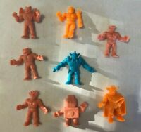 Vintage Mattel M.U.S.C.L.E. Action Figures Muscle Men Lot of 8
