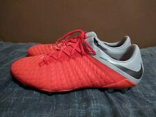 Nike Hypervenom 3 Elite SG Pro Soccer Shoes Cleats AJ6703-601 Red US Size 11.5