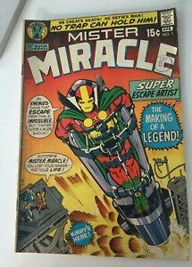 Mister Miracle # 1 1st Scott Free Jack Kirby D C Comics 1971