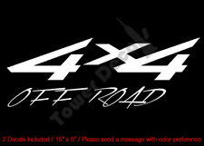 4X4 OFFROAD MOUNTAIN VINYL DECAL (24) FITS: CHEVY GMC DODGE FORD NISSAN TOYOTA