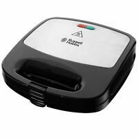 Russell Hobbs 3-in-1 Fiesta Sandwich Toastie/Panini and Waffle Snack Maker Grill