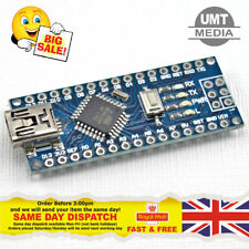 (Arduino Nano Compatible) v3.0 ATMEGA328p CH340 USB-Serial 5V UK Stock UMTMedia