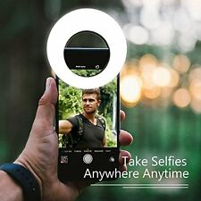Selfie Ring Light Photography For Smartphone 36 LED Rechargeable Dimmable 3 Mode