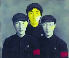 """Hand Painted oil painting:""""Zhang Xiaogang at canvas"""" 24x36 Inch"""