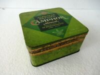 Vintage Japanese Refined Camphor Tin Asahi Brand By The Nipon Camphor Co Kobe *F