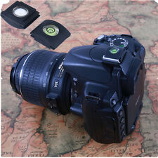 Black Hot Shoe Bubble Spirit Level Protector Cover for DSLR Camera Canon Nikon