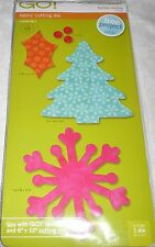 Accuquilt Go! Fabric Cutting Die Christmas HOLIDAY MEDLEY - Item #55043