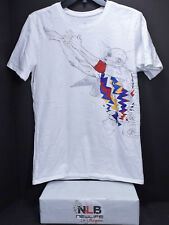 Air Jordan Retro T-Shirt Men's Small WHITE Bugs Bunny Hare FINAL SHOOT