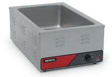 """Nemco 6055A Counter Top Food Warmer For Full Size 12"""" x 20"""" S/s Pan"""