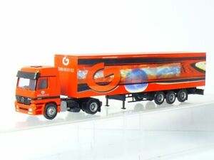AWM MB Actros MP1 Geologistics Semi-Remorque Camion 1:87/H0
