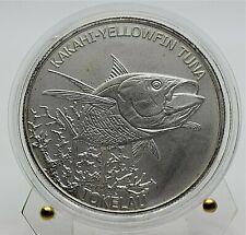 2014 Tokelau - Kakahi - Yellowfin Tuna - 1 Oz Silver Coin